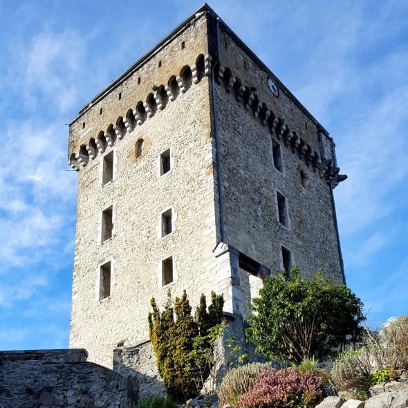 Donjon Château fort de Lourdes