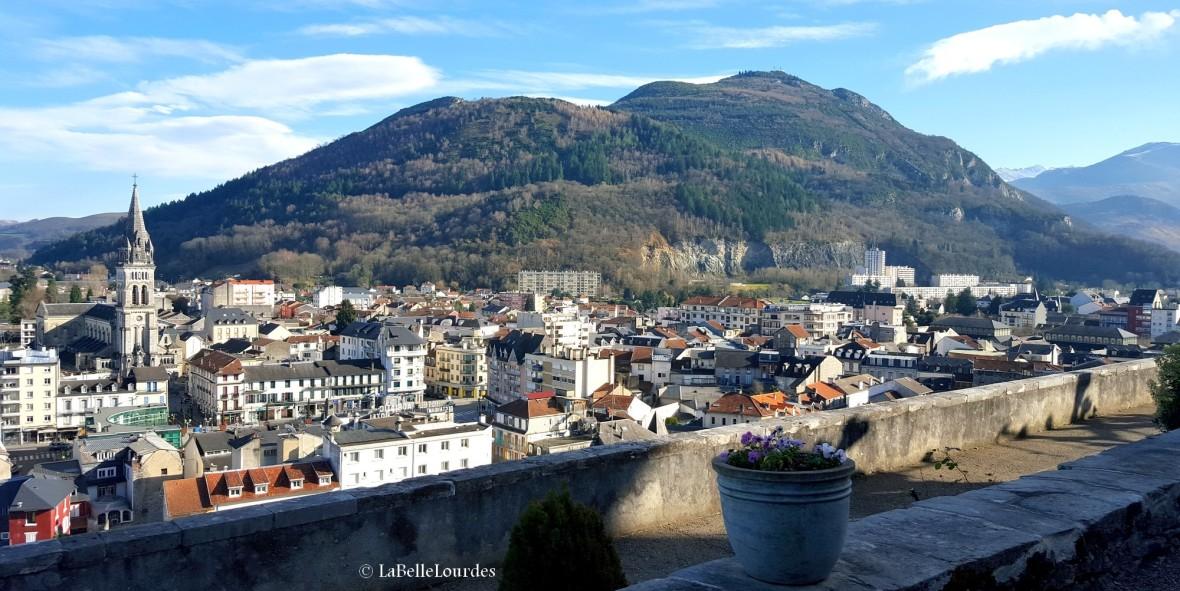 Lourdes et le Pic du Jer