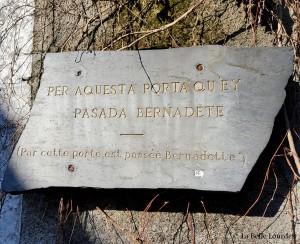 Porte du jardin - Presbytère de l'abbé Peyramale La Belle Lourdes