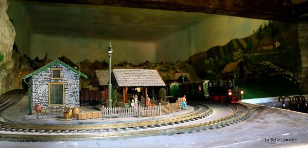 La première gare de Lourdes