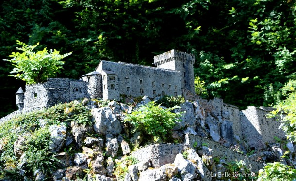 Le Château Fort de Lourdes, fidèle à l'original